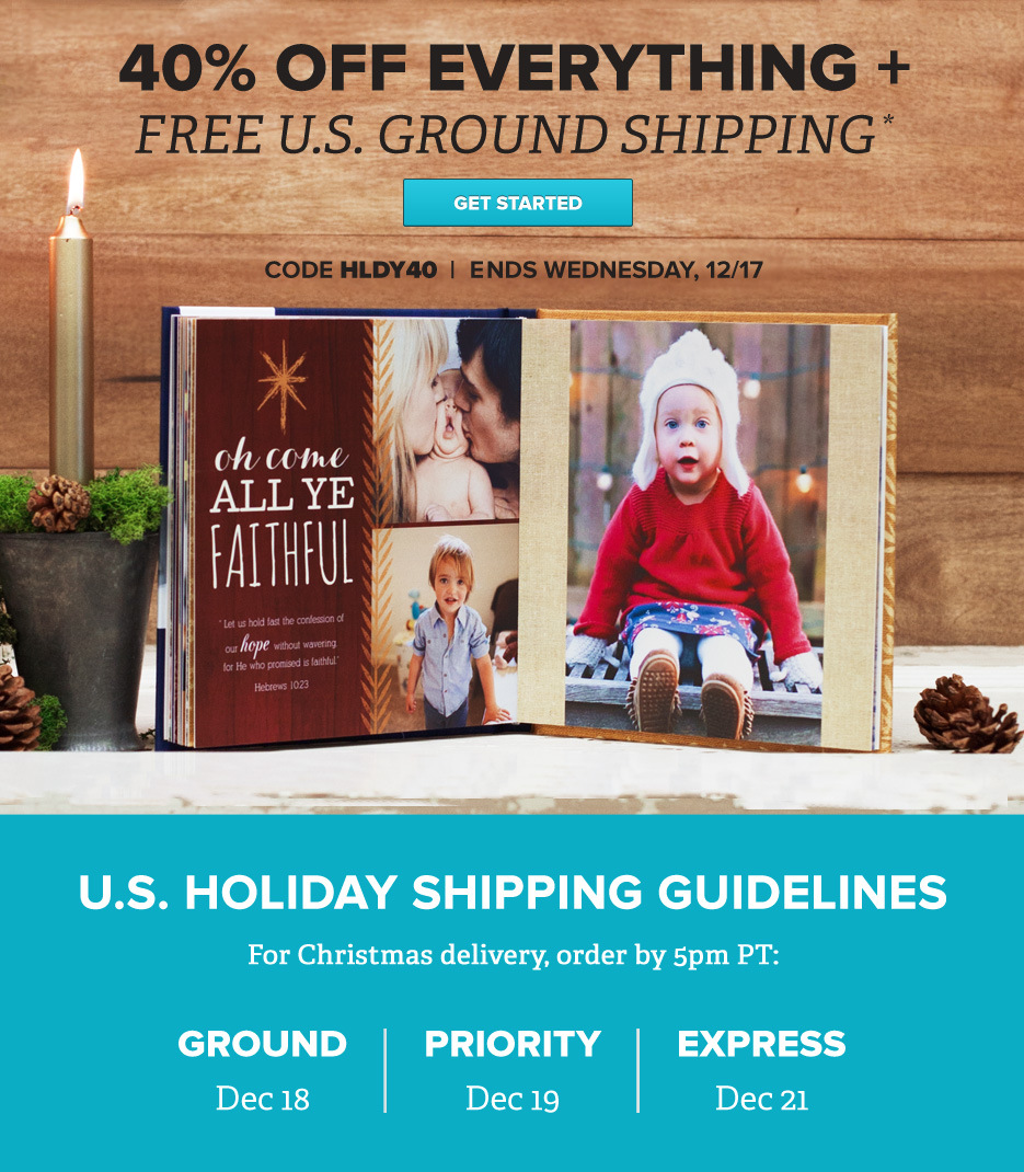 40% Off Mixbook + FREE Shipping!