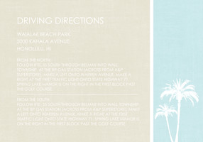 Palm Tree Paradise Directions