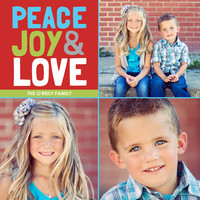 Peace, Joy & Love