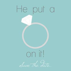 he put: