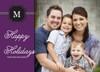 Family Holiday Monogram