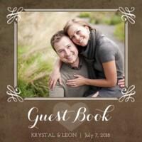 Rustic Wedding Guestbook
