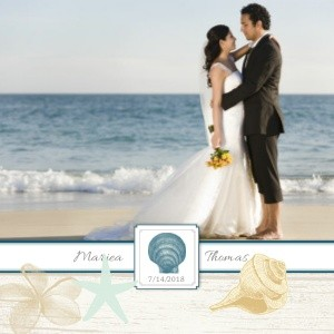 Classic Beach Wedding