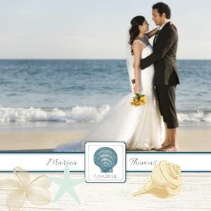 Classic Beach Wedding