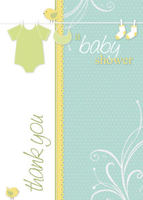 Clothesline Baby - Blue