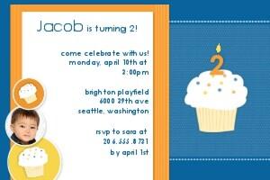 Cool Cupcake - Blue