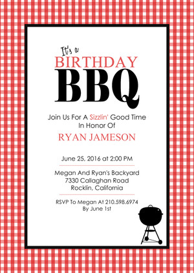 Bbq Birthday Party Invitations was best invitation sample