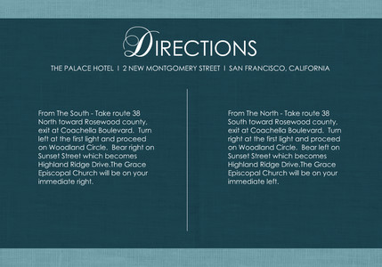 Jeweled Accents - Directions