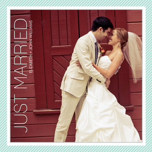 Wedding Announcements - Just Married Stripes by Mixbook