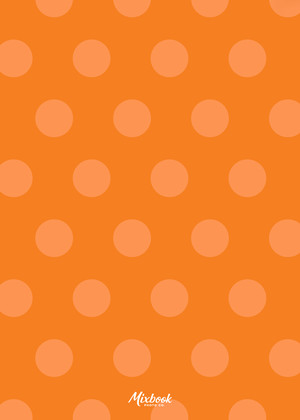 Orange Dot to Dot Birthday
