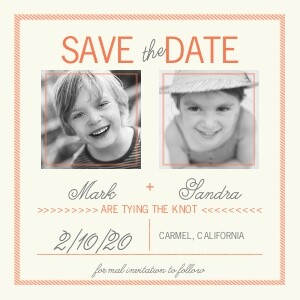 Save the Date Cards - Sweethearts by Mixbook