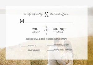Transparent Wedding Overlay