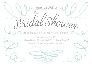 Bridal Shower Swashes