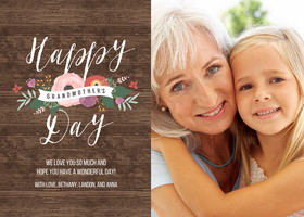 Rustic Grandmother's Day