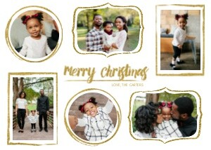 Holiday Photo Cards - Funky Frames by Mixbook