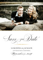 Sophisticated Glamour Save the Date