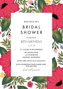Vintage Floral Bridal Shower
