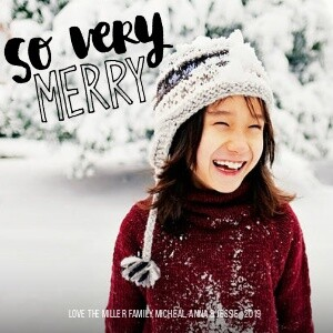 So Very Merry by Amy Tangerine