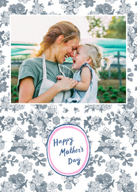 Mother's Day Flower Pattern
