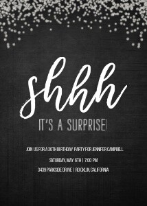 It's A Surprise Party