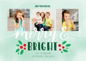 Merry and Bright by Printable Crush