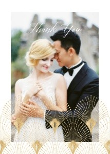 Great Gatsby Inspired Wedding