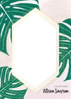 Tropical Notecard