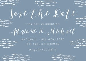 Nautical Save the Date by Hello!Lucky