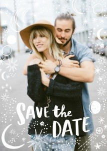 Constellation Save the Date by Hello!Lucky