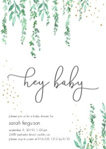 Greenery Baby Shower