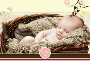Mixbook Baby Editable Theme