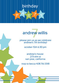 Star and Stripe Party