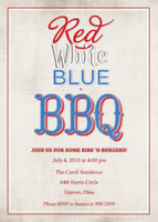 Red, White, Blue + BBQ