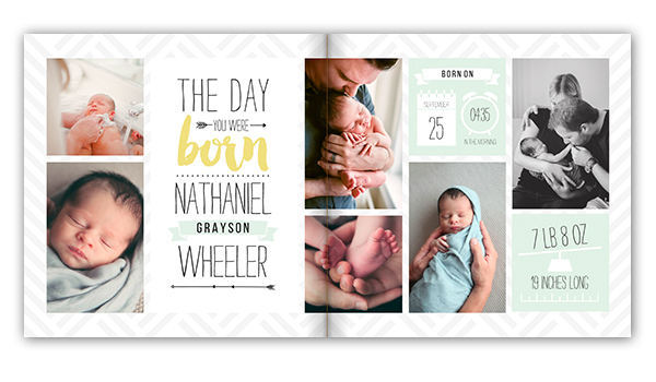 Baby Photo Books and Albums - Baby Memory Book | Mixbook